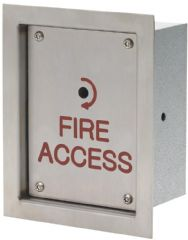 DEFENDER SECURITY DEF-0690-1  Keyswitch Firemans Overide Flush